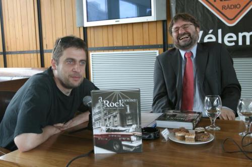Para Kovács Imre és Bozóki András a megnyitón